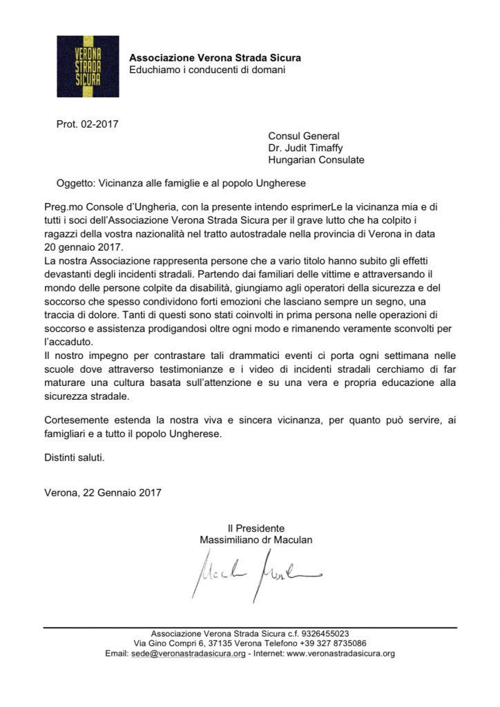 Lettera di solidarietà al popolo ungherese